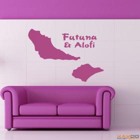 """Wandtattoo """"Futuna & Alofi"""""""