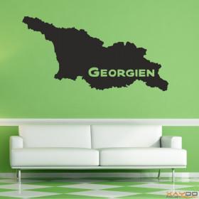 "Wandtattoo ""Georgien"""