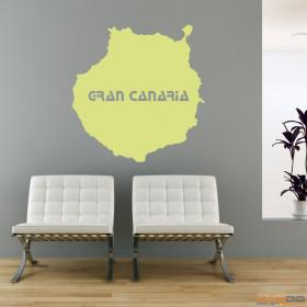"Wandtattoo ""Gran Canaria"""