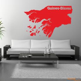 "Wandtattoo ""Guinea-Bissau"""