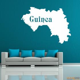 "Wandtattoo ""Guinea"""