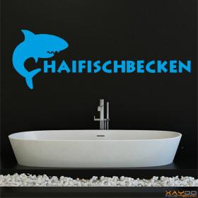 """Wandtattoo """"Haifischbecken"""""""