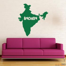 """Wandtattoo """"Indien"""""""