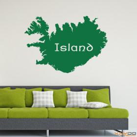 "Wandtattoo ""Island"""