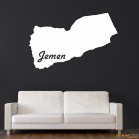 """Wandtattoo """"Jemen"""""""