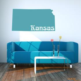 """Wandtattoo """"Kansas"""""""