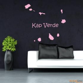 """Wandtattoo """"Kap Verde"""""""