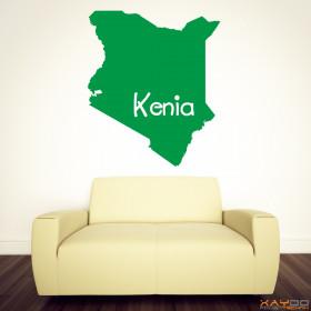 "Wandtattoo ""Kenia"""