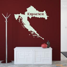 """Wandtattoo """"Kroatien"""""""