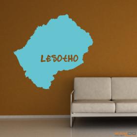 """Wandtattoo """"Lesotho"""""""