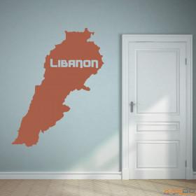 "Wandtattoo ""Libanon"""