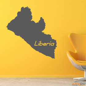 "Wandtattoo ""Liberia"""