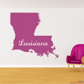 "Wandtattoo ""Louisiana"""