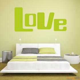 "Wandtattoo ""Love"""