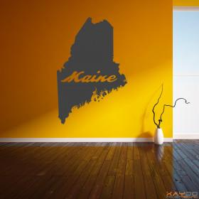 "Wandtattoo ""Maine"""