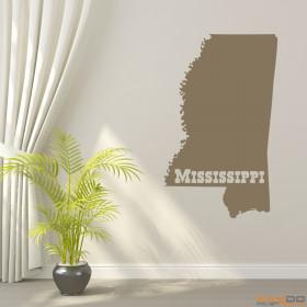 """Wandtattoo """"Mississippi"""""""