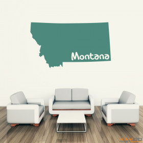 "Wandtattoo ""Montana"""