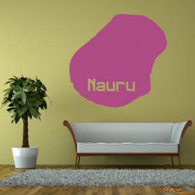 "Wandtattoo ""Nauru"""