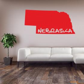 "Wandtattoo ""Nebraska"""