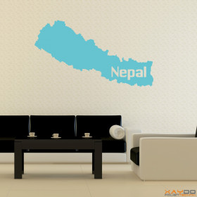 "Wandtattoo ""Nepal"""