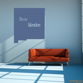 "Wandtattoo ""New Mexico"""