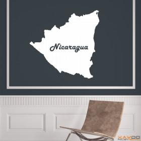 "Wandtattoo ""Nicaragua"""