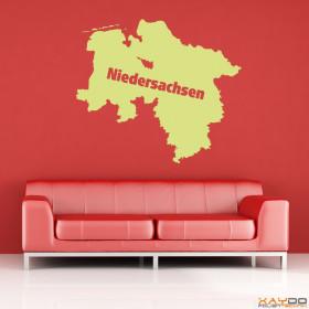 """Wandtattoo """"Niedersachsen"""""""