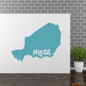 """Wandtattoo """"Niger"""""""
