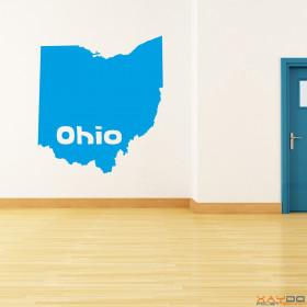 """Wandtattoo """"Ohio"""""""