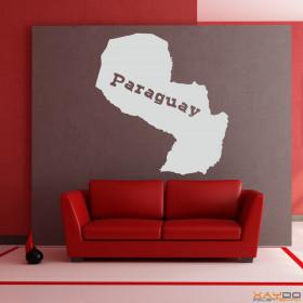 "Wandtattoo ""Paraguay"""