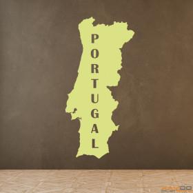 "Wandtattoo ""Portugal"""