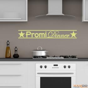 "Wandtattoo ""Promi Dinner"""