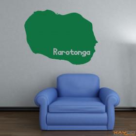 """Wandtattoo """"Rarotonga"""""""