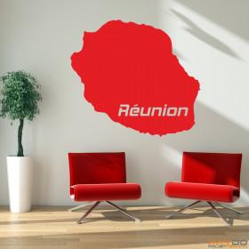"""Wandtattoo """"Réunion"""""""