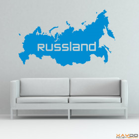 """Wandtattoo """"Russland"""""""
