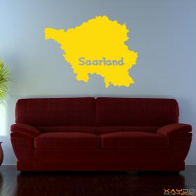 """Wandtattoo """"Saarland"""""""