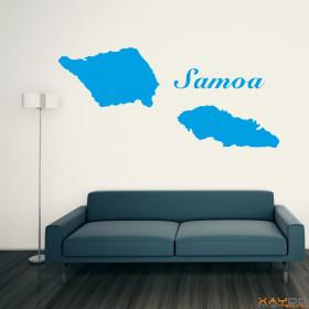"Wandtattoo ""Samoa"""