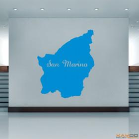 "Wandtattoo ""San Marino"""