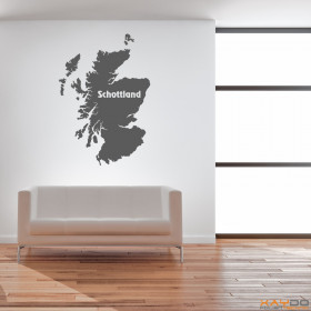 "Wandtattoo ""Schottland"""