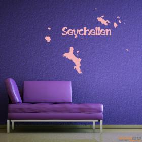 "Wandtattoo ""Seychellen"""