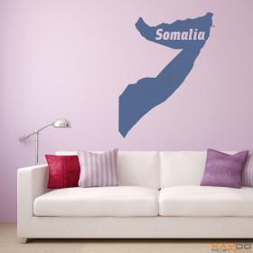 """Wandtattoo """"Somalia"""""""