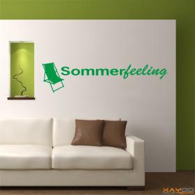 "Wandtattoo ""Sommerfeeling"""