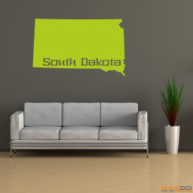 "Wandtattoo ""South Dakota"""