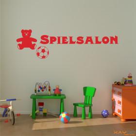 """Wandtattoo """"Spielsalon"""""""
