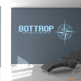 """Wandtattoo """"Stadt Bottrop"""""""