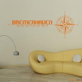 """Wandtattoo """"Stadt Bremerhaven"""""""