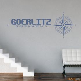 "Wandtattoo ""Stadt Görlitz"""