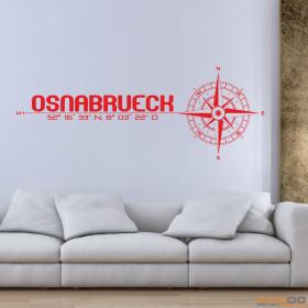 """Wandtattoo """"Stadt Osnabrück"""""""