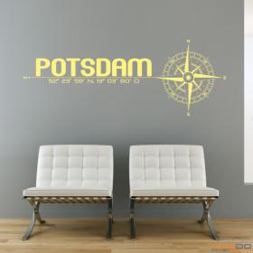 "Wandtattoo ""Stadt Potsdam"""