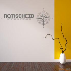 """Wandtattoo """"Stadt Remscheid"""""""